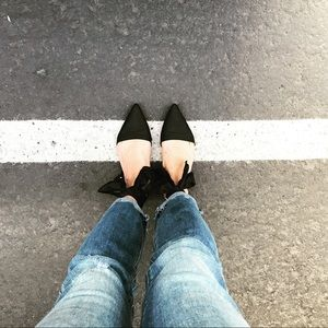 Sam Edelman Brandie Pointed Toe Flat SZ 8.5